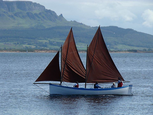 The traditional Greencastle yawl evolved from a Norwegian type