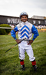 MAY 15, 2021: Ricardo Santana Jr. before the Preakness Stakes at Pimlico Racecourse in Baltimore, Maryland on May 15, 2021. EversEclipse Sportswire/CSM