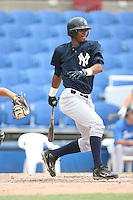 August 13, 2008: Jimmy Parades (46) of the GCL Yankees.  Photo by: Chris Proctor/Four Seam Images