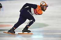 SCHAATSEN: HEERENVEEN: 31-10-2018, IJsstadion Thialf, Topsporttraining, Sjinkie Knegt, ©foto Martin de Jong