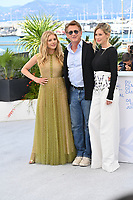 CANNES, FRANCE. July 11, 2021: Katheryn Winnick, Sean Penn & Dylan Penn at the photocall for Flag Day at the 74th Festival de Cannes.<br /> Picture: Paul Smith / Featureflash