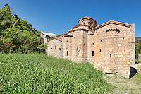 The Monastery of Saint Sophia in Mystras, Greece