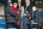St Johnstone v Aberdeen...13.04.14    William Hill Scottish Cup Semi-Final, Ibrox<br /> Former Chairman Geoff Brown pictured with George Browning (left) and Paul Smith<br /> Picture by Graeme Hart.<br /> Copyright Perthshire Picture Agency<br /> Tel: 01738 623350  Mobile: 07990 594431