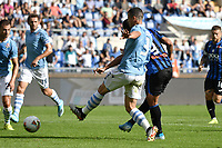 Luis Muriel of Atalanta BC scores the goal of 0-1 for his side <br /> Roma 19-10-2019 Stadio Olimpico <br /> Football Serie A 2019/2020 <br /> SS Lazio - Atalanta<br /> Foto Andrea Staccioli / Insidefoto