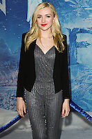 """HOLLYWOOD, CA - NOVEMBER 19: Peyton List at the World Premiere Of Walt Disney Animation Studios' """"Frozen"""" held at the El Capitan Theatre on November 19, 2013 in Hollywood, California. (Photo by David Acosta/Celebrity Monitor)"""