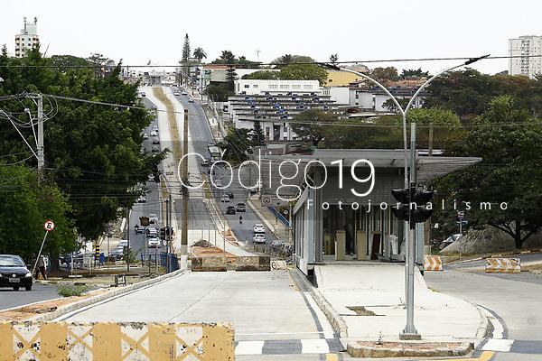 Campinas (SP), 15/08/2020 - BRT-SP - Obras do BRT no corredor Amoreiras em Campinas, neste sábado (15).