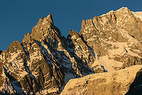 Italie, Val d'Aoste, Courmayeur, le