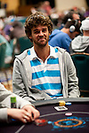 Brazilian tennis player Gustavo Kuerten is competing on Day 1B of the Main Event.