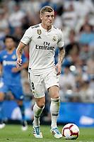 Real Madrid's Toni Kroos during La Liga match. August 19,2018.  *** Local Caption *** © pixathlon<br /> Contact: +49-40-22 63 02 60 , info@pixathlon.de