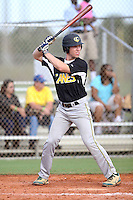Charlie Cody, #8 of Fuquay Varina High School, NC playing for the Evoshield Canes Team during the WWBA World Championship 2013 at the Roger Dean Complex on October 27, 2013 in Jupiter, Florida. (Stacy Jo Grant/Four Seam Images)