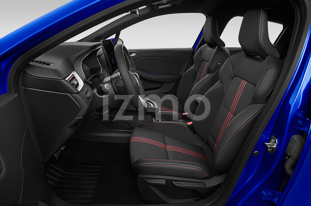 Front seat view of 2020 Renault Clio-e-Tech RS-Line 5 Door Hatchback Front Seat  car photos