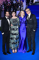 """Lin-Manuel Miranda, Emily Mortimer, Emily Blunt and Colin Firth<br /> arriving for the """"Mary Poppins Returns"""" premiere at the Royal Albert Hall, London<br /> <br /> ©Ash Knotek  D3467  12/12/2018"""