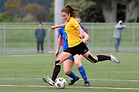 Tupelo Dugan of Capital during the Handa Women's Premiership - Capital Football v Southern United at Petone Memorial Park, Wellington on Saturday 7 November 2020.<br /> Copyright photo: Masanori Udagawa /  www.photosport.nz