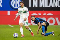 inter-sassuolo - milano 7 aprile 2021 - 28° giornata Campionato Serie A - nella foto: raspadori e darmian