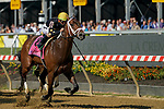 May 15, 2021: Special Reserve, #8, ridden by jockey Irad Ortiz Jr., wins the Maryland Sprint Match Series Stakes on Preakness Stakes Day at Pimlico Race Course in Baltimore, Maryland. Scott Serio/Eclipse Sportswire/CSM