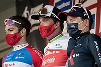 Mads Pedersen (DEN/Trek - Segafredo) wins the 73rd Kuurne - Brussels - Kuurne 2021<br /> Anthony Turgis (FRA/Total Direct Energie) finishes 2nd & Tom Pidcock (GBR/Ineos Grenadiers) 3rd<br /> <br /> ME (1.Pro)<br /> 1 day race from Kuurne to Kuurne (BEL/197km)<br /> <br /> ©kramon