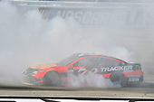 2017 Monster Energy NASCAR Cup Series - Kobalt 400<br /> Las Vegas Motor Speedway - Las Vegas, NV USA<br /> Sunday 12 March 2017<br /> Martin Truex Jr, Bass Pro Shops/TRACKER BOATS Toyota Camry celebrates his win with a burnout<br /> World Copyright: Nigel Kinrade/LAT Images<br /> ref: Digital Image 17LAS1nk07773