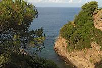 - Porto Azzurro (Island of Elba), coast with little bay....- Porto Azzurro  (Isola d'Elba), insenatura della costa