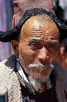 Ladakhi in Tracht , Leh, Ladakh (Jammu+Kashmir), Indien