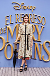 Norma Ruiz attends to Mary Poppins Returns film premiere at Kinepolis in Pozuelo de Alarcon, Spain. December 11, 2018. (ALTERPHOTOS/A. Perez Meca)