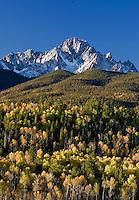 Mt. Sneffels from CR5 near Ridgway, Colorado.<br /> <br /> Canon EOS 5D, 70-200 f/2.8L lens