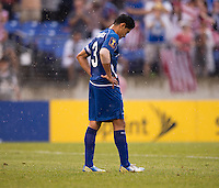 Victor Turcios Pacheco.  The United States defeated El Salvador, 5-1, during the quarterfinals of the CONCACAF Gold Cup at M&T Bank Stadium in Baltimore, MD.