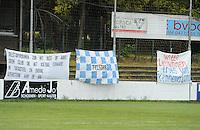 Club Brugge Dames - Telstar Ijmuiden : spandoeken Telstar<br /> foto Dirk Vuylsteke / nikonpro.be