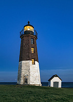 Point Judith Lighthouse, Rhode Island, USA.