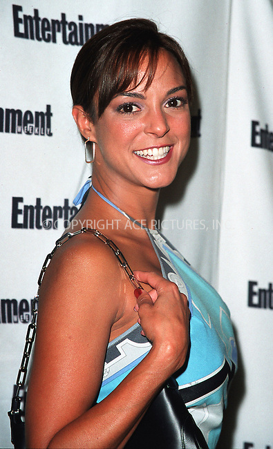 NEW YORK - JUNE 24, 2002: EVA LARUE CALAHAN arrives for Entertainment Weekly's First Annual It List Party June 24, 2002 at Milk Studios in New York City.  Please byline: Alecsey Boldeskul/NY Photo Press.   ..*PAY-PER-USE*      ....NY Photo Press:  ..phone (646) 267-6913;   ..e-mail: info@nyphotopress.com
