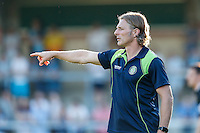 Gareth Ainsworth Manager of Wycombe Wanderers during the Friendly match between Wycombe Wanderers and Brentford at Adams Park, High Wycombe, England on 19 July 2016. Photo by David Horn / PRiME Media Images.