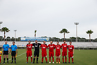 Lakewood Ranch, FL - Sunday July 23, 2017: Canada starters during an international friendly match between the paralympic national teams of the United States (USA) and Canada (CAN) at Premier Sports Campus at Lakewood Ranch.