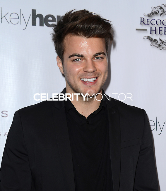 LOS ANGELES, CA, USA - NOVEMBER 08: Josh Golden arrives at the Unlikely Heroes' 3rd Annual Awards Dinner And Gala held at the Sofitel Hotel on November 8, 2014 in Los Angeles, California, United States. (Photo by Celebrity Monitor)