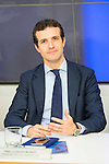 Pablo Casado during the meeting with the national executive committee of Partido Popular at Genova in Madrid. May 03, 2016. (ALTERPHOTOS/Borja B.Hojas)
