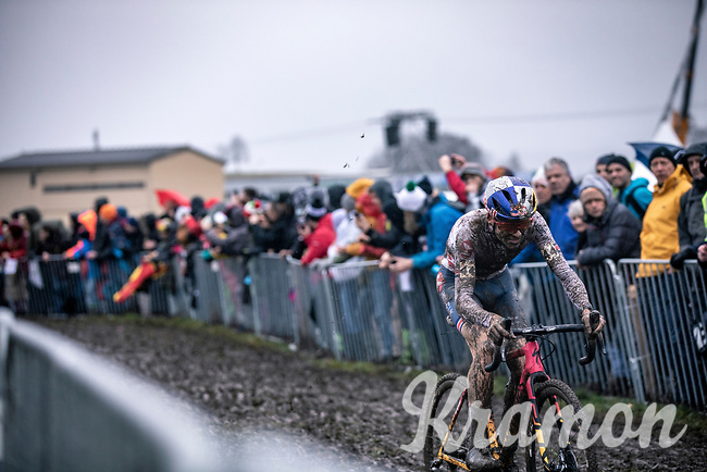 Thomas Pidcock (GBR)<br /> <br /> Men's Elite race<br /> UCI 2020 Cyclocross World Championships<br /> Dübendorf / Switzerland<br /> <br /> ©kramon