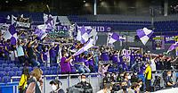30th September 2021; Madrid, Spain:  Euroleague Basketball, Real Madrid versus Anadolu Efes Istanbul;  Berserkers supporters during the Matchday 1 between Real Madrid and Anadolu Efes Istanbul