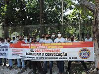 08/04/2021 - PROTESTO POR CONCURSO PÚBLICO DE PM EM RECIFE