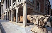 Türkei, Hof des archäologischen Museums (Archeoloji Müzesi)  in Istanbul