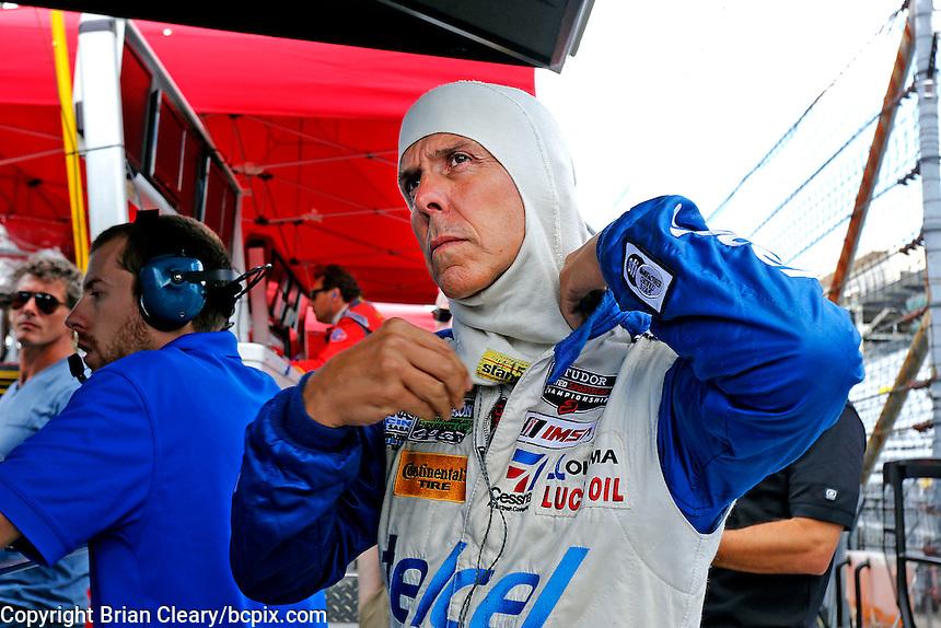 Scott Pruett, Brickyard Grand Prix, Indianapolis Motor Speedway, Indianapolis, Indiana, July 2014.  (Photo by Brian Cleary/www.bcpix.com)