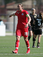 Abby Wambach. Washington Freedom defeated FC Gold Pride 4-3 at Buck Shaw Stadium in Santa Clara, California on April 26, 2009.