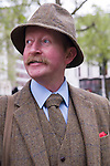 The Tweed Run London UK. Interview with Martin Young