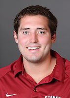 STANFORD, CA - AUGUST 31:  Brian Pingree of the Stanford Cardinal during water polo picture day on August 31, 2009 in Stanford, California.