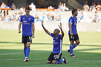 SAN JOSE, CA - AUGUST 8: Judson Silva Tavares #93 of the San Jose Earthquakes after a game between Los Angeles FC and San Jose Earthquakes at PayPal Park on August 8, 2021 in San Jose, California.