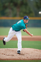Chris Nash (64), from Delaware, Ohio, while playing for the Mariners during the Baseball Factory Pirate City Christmas Camp & Tournament on December 29, 2017 at Pirate City in Bradenton, Florida.  (Mike Janes/Four Seam Images)