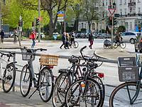Kreuzung Breitenfelder Str. / Curschmannstr. in Hamburg-Hoheluft-Ost, Deutschland, Europa<br /> crossroads Breitenfelder St. / Curschmann St. in Hamburg-Hoheluft-Ost, Germany, Europe