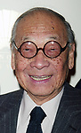 I.M. PEI attending the Gala Opening Night launch of the Mandarin Oriental Hotel in New York City.<br /> December 1, 2003