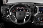 Car pictures of steering wheel view of a 2019 Chevrolet Silverado-1500 RST 4 Door Pick-up Steering Wheel