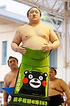 Sadanoumi, <br /> APRIL 17, 2017 - Sumo : Annual sumo tournament dedicated to the Yasukuni Shrine in Tokyo Japan. (Photo by Yohei Osada/AFLO SPORT)