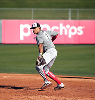 Christian Moore  participates in the 2020 MLB Dream Series on January 17-20, 2020 at the Los Angeles Angels training complex in Tempe, Arizona (Bill Mitchell)