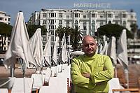 Europe/France/Provence-Alpes-Côte d'Azur/06/Alpes-Maritimes/Cannes:  Restaurant de Plage: La Plage Z à l'Hôtel Martinez - le chef Christian Sinicropi [Non destiné à un usage publicitaire - Not intended for an advertising use]