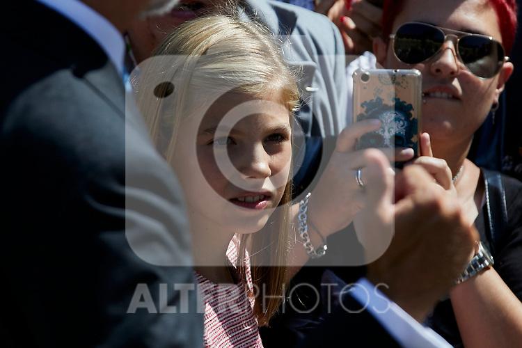 Princess Sofia of Spain visit Covadonga, Spain. September 08, 2018. (ALTERPHOTOS/A. Perez Meca)